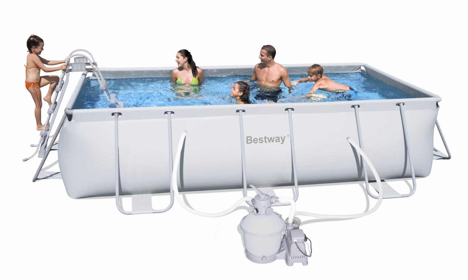 bestway frame pool preisvergleich die besten angebote online kaufen. Black Bedroom Furniture Sets. Home Design Ideas
