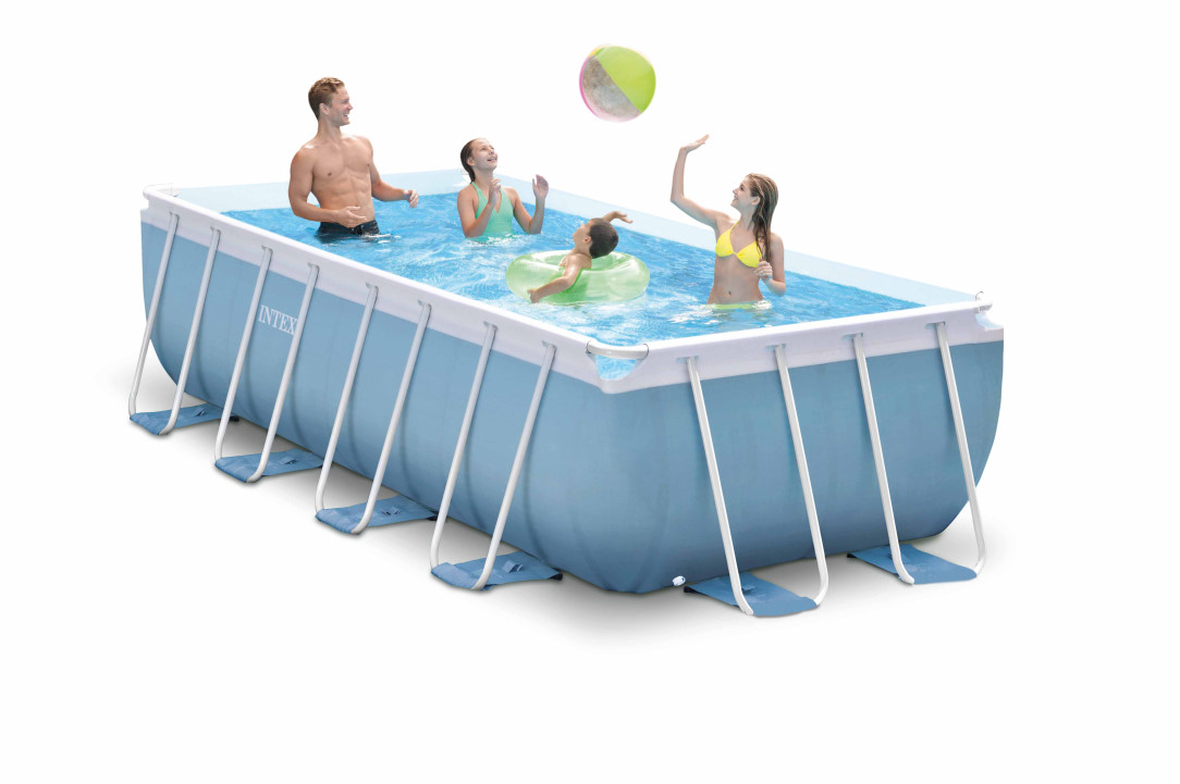 Swimmingpool rechteckig preisvergleiche for Swimming pool stahlwand rechteckig