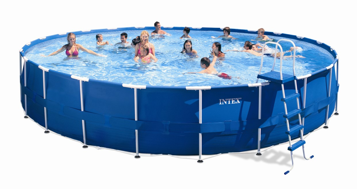 Intex Recreation Metal Frame Pool Komplett Set 732 x 132 28262 GS