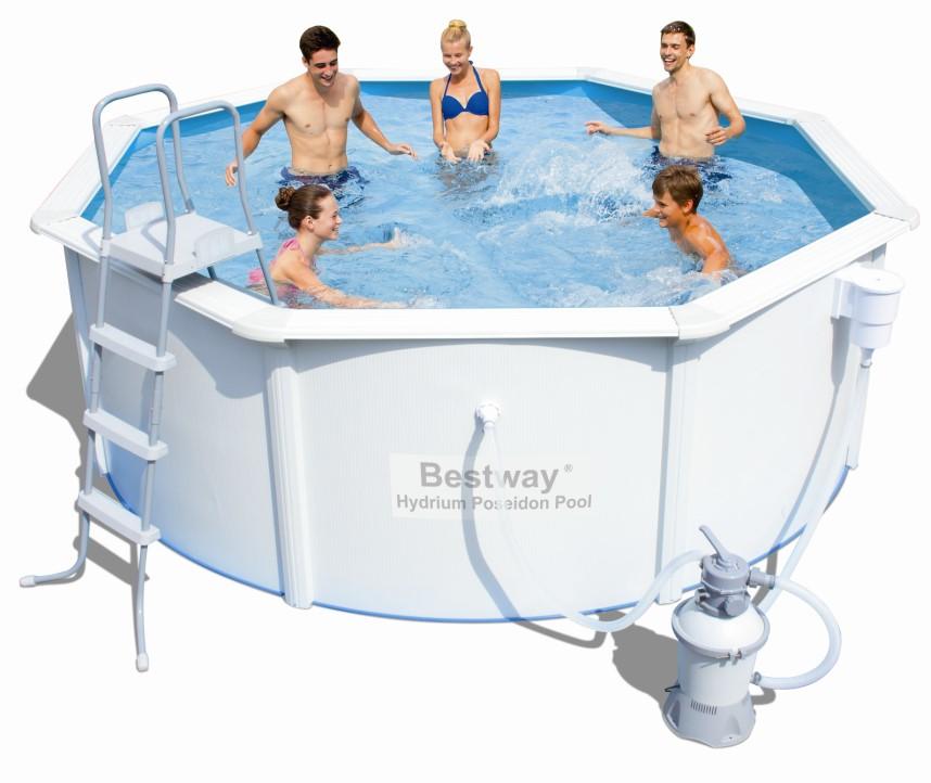 Poolfolie 4 bestway preisvergleiche for Bestway pool bei obi