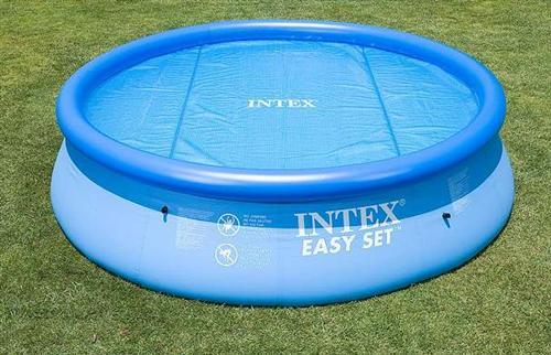 Intex solarabdeckplane f r easy frame pool 366 cm for Intex pool 120 hoch