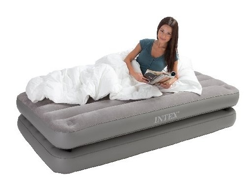 INTEX Single Luftbett Queen 2-in-1 67743