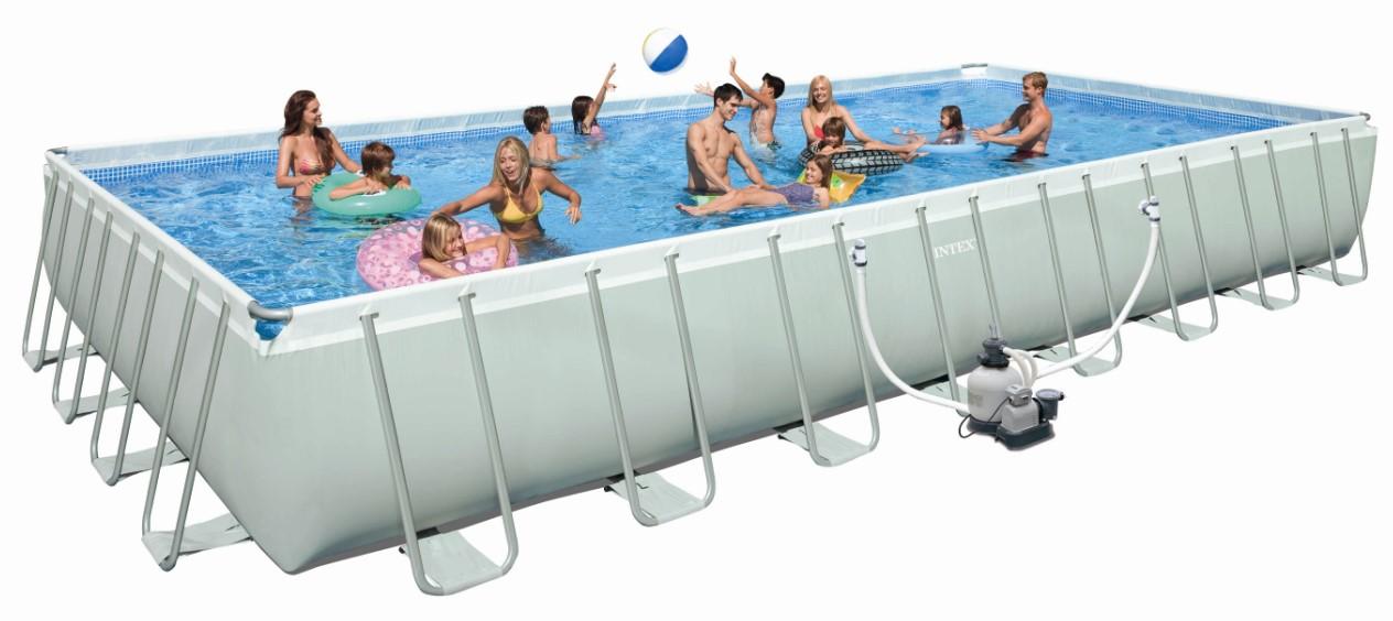 Intex ultra pool preisvergleich die besten angebote for Rechteck pool zum aufstellen
