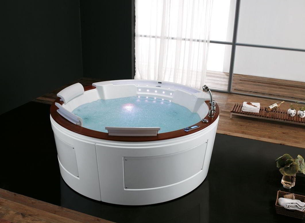 Whirlpool indoor rund  Indoor Whirlpool Rund | loopele.com