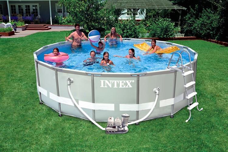 Intex Recreation Ultra-Metal-Frame Pool-Set 488x122 + Chlorinator 28328