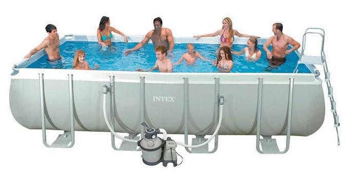 Intex ultra preisvergleich die besten angebote online kaufen for Swimming pool preisvergleich