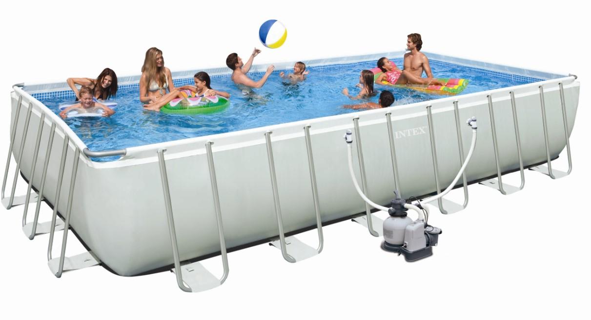 Swimming pools intex ultra frame preisvergleiche - Bestway pool mit sandfilteranlage ...